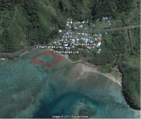 Satellite image Namatakula