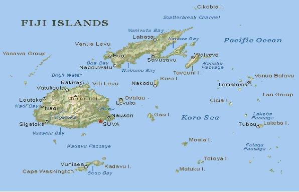 viti levu map